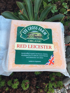 Lye Cross Farm Organic Red Leicester Cheese 245g