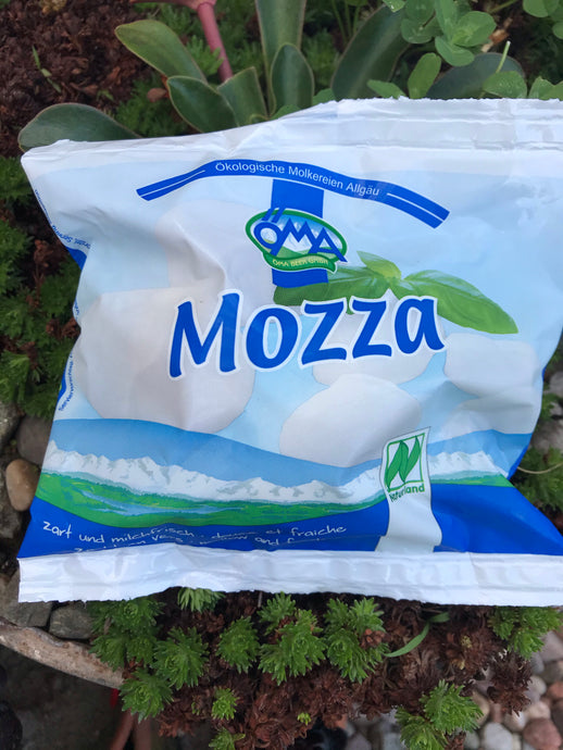 OMA Organic Mozzarella Cheese 125g