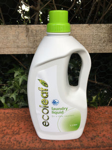 Ecoleaf Laundry Liquid 1.5L bottle or refill