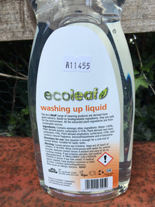 Ecoleaf Washing Up Liquid 1L bottle or refill