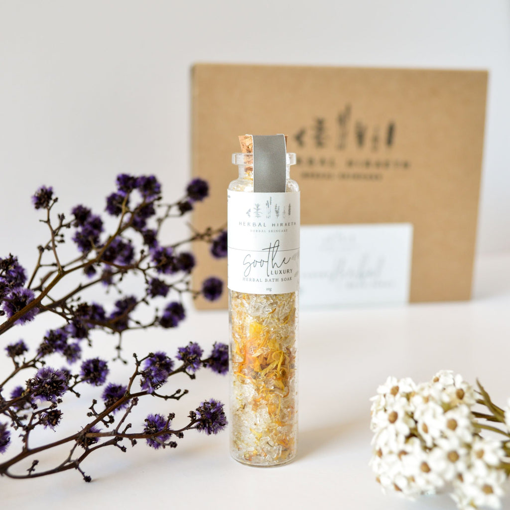 Soothe Luxury Herbal Bath Soak 22g - HerbalHiraeth