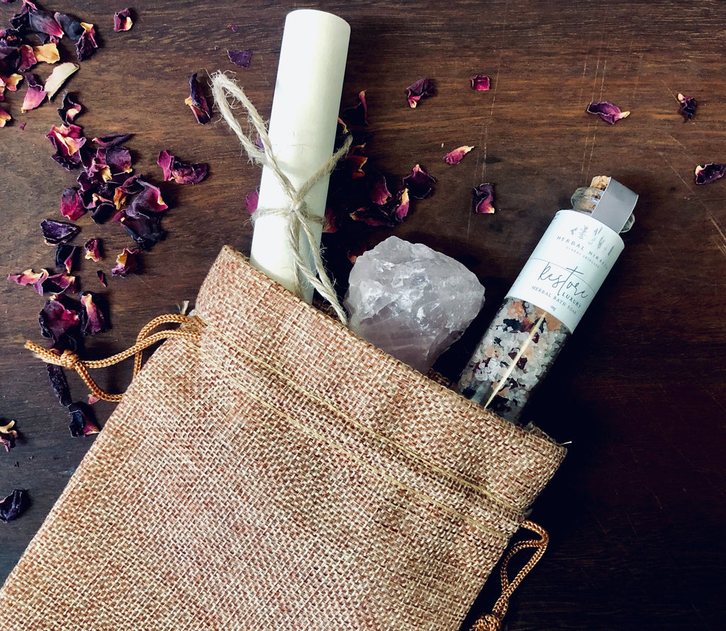 Self Love Ritual Set - Limited Edition Gift Pack - HerbalHiraeth