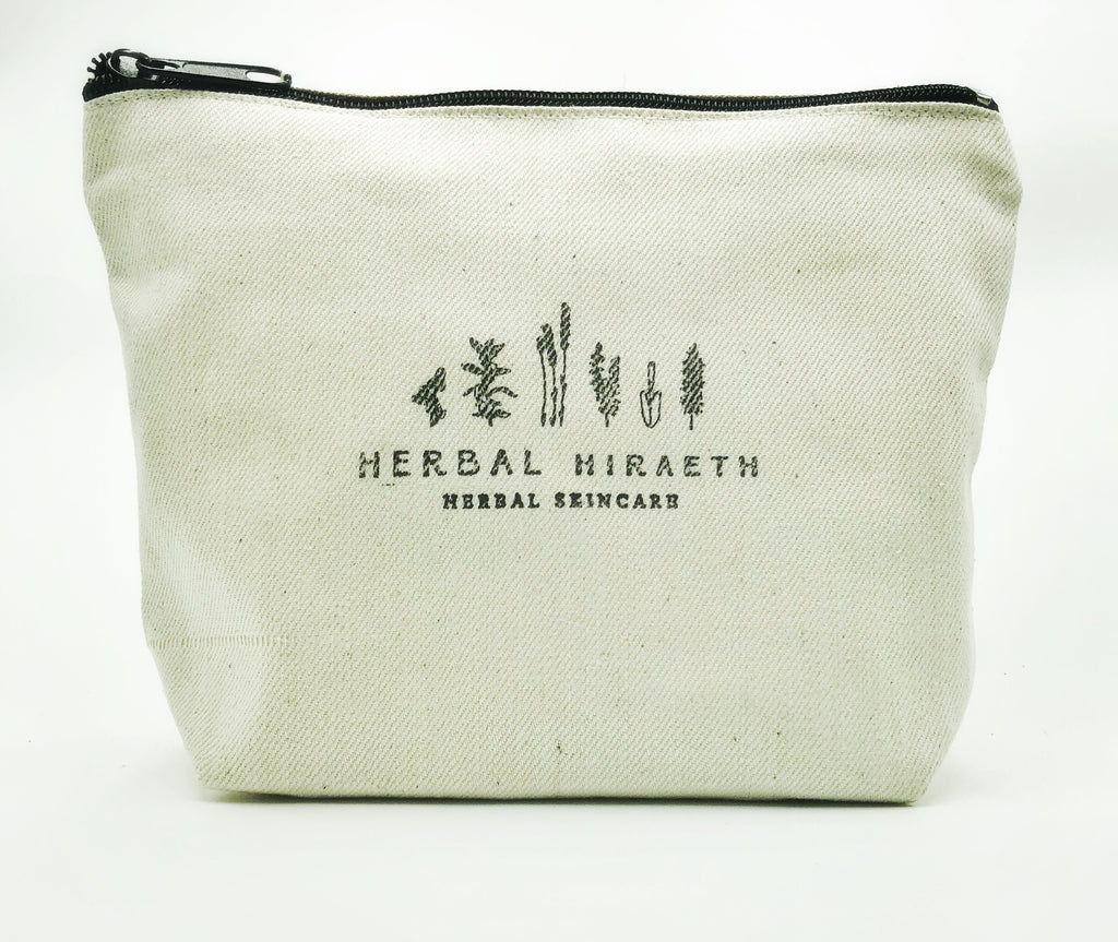 Herbal Hiraeth Cosmetic Travel Bag - HerbalHiraeth