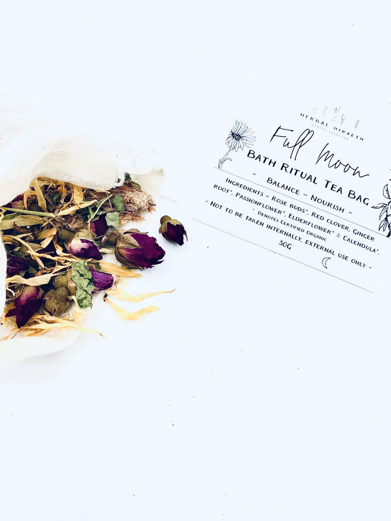 Full Moon Ritual Bath Tea Bag