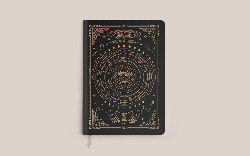 Magic of I Vegan Leather Lined Journal