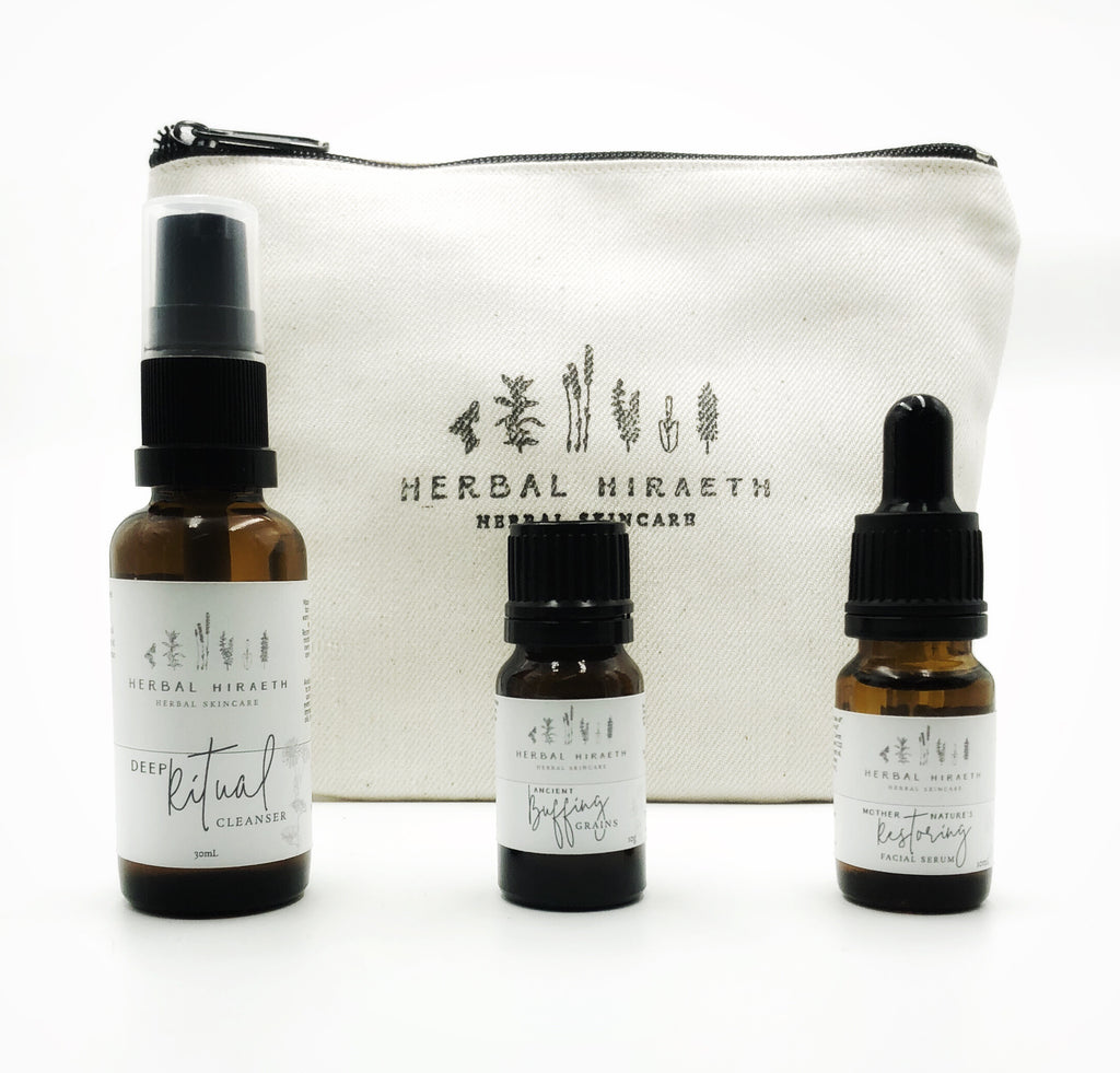 Face Ritual Trial/Travel Pack - HerbalHiraeth