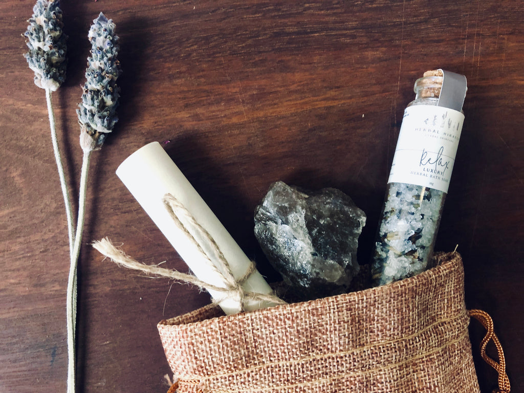 Grounding Ritual Set - Limited Edition Gift Pack - HerbalHiraeth