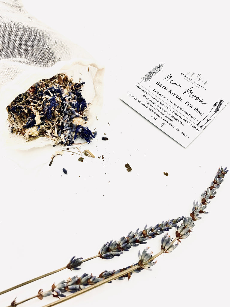 New Moon Ritual Bath Tea Bag
