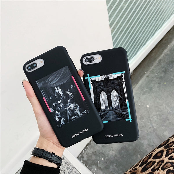 Fashion iPhone Soft Silicone cover Case