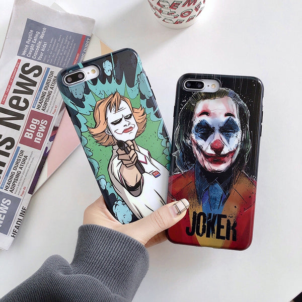 iPhone Famous Movie JOKER Soft Silicone Case