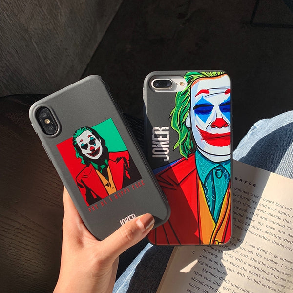 Fashion Movie JOKER iPhone Silicone cover Case