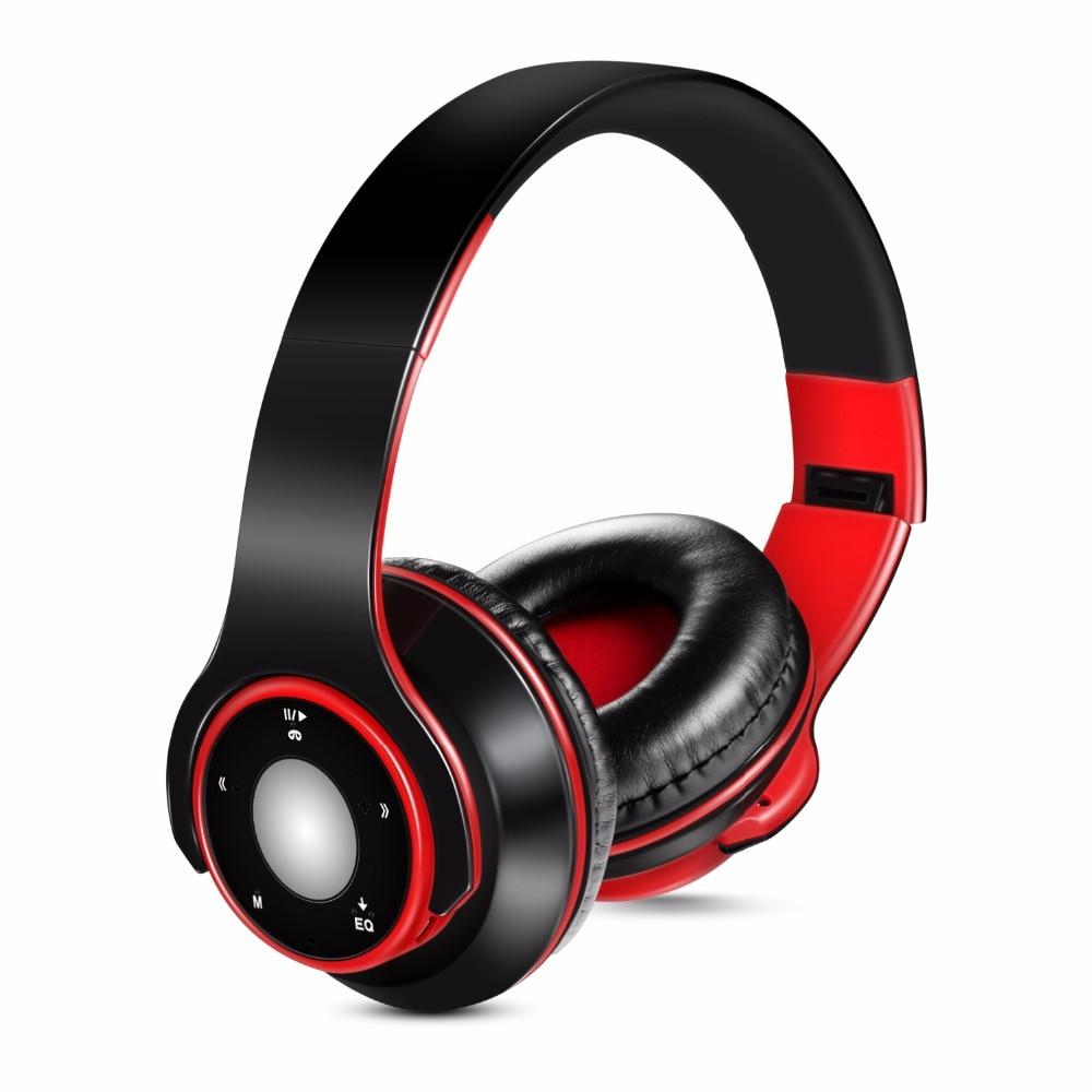 Colorful Audio Mp3 Bluetooth Headset Wireless Headphones