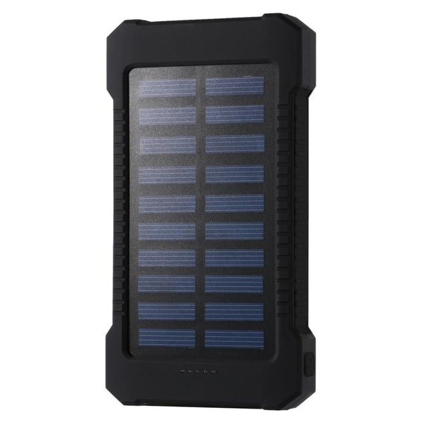 Solar Power Bank 30000mah Waterproof External Battery