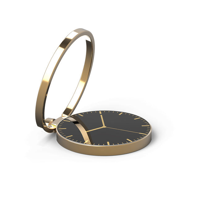 360 Rotate Watch pattern metal Finger Ring Holder stand