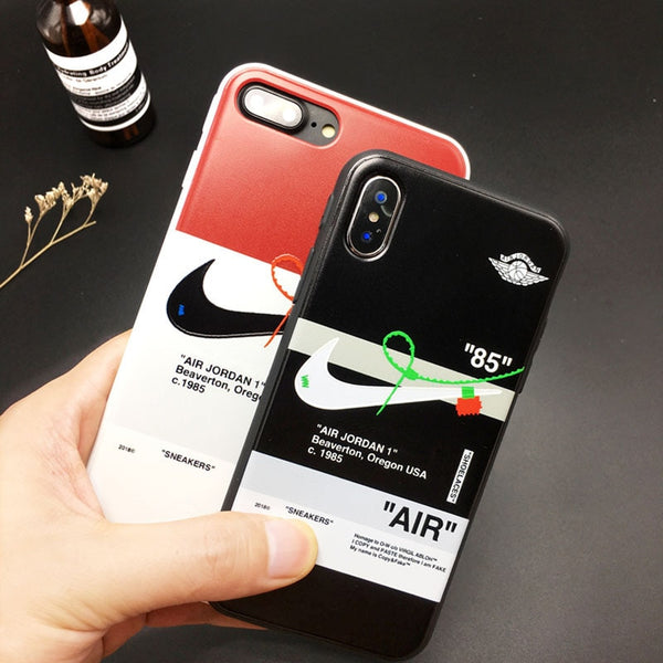 Tide Sports NIKE AIR Jordan Aj1 Joint Name OW iPhone Case