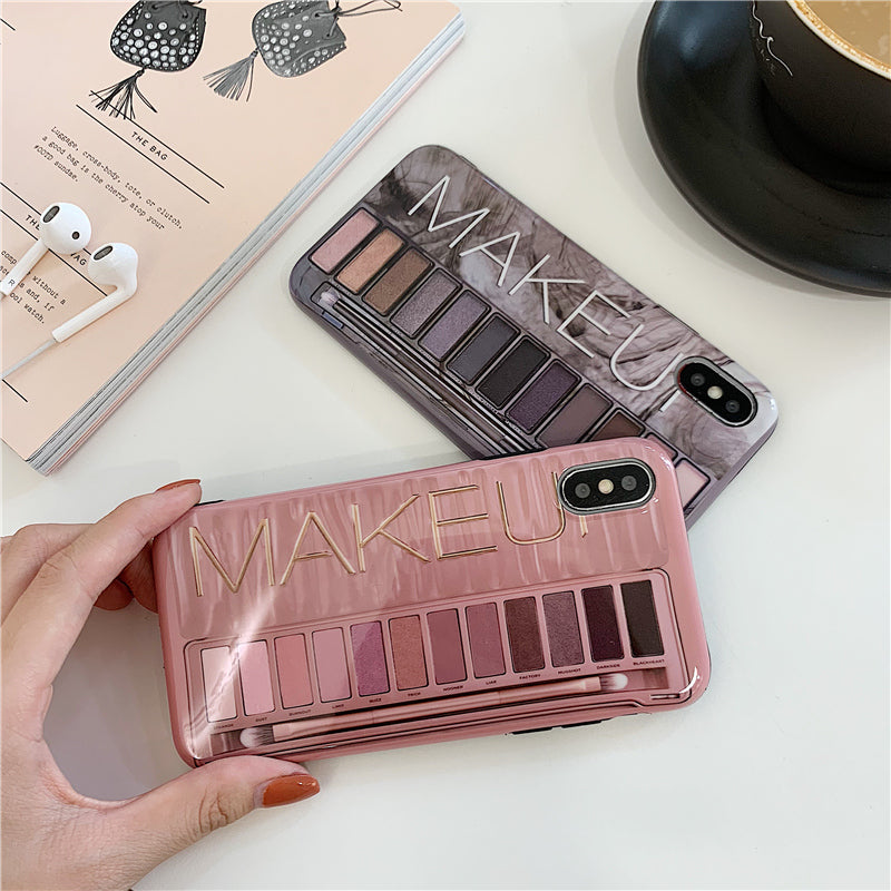 Makeup Eyeshadow Palette iPhone Soft Case