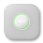 Nest Protect 2nd Generation Wireless (Pro) Smart Smoke/Carbon Monoxide Alarm - White