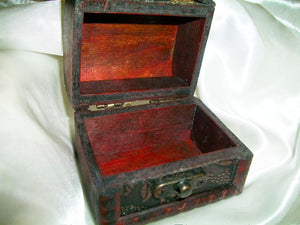 Hand-Made Wooden High-Energy Charging/Transfer Box - Autumn Dusk Spirits