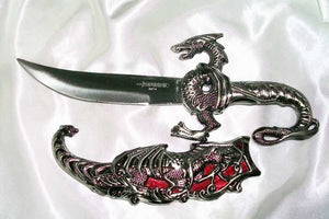 Master of All Male Red Dragon – Gorgeous Dragon Dagger - Autumn Dusk Spirits