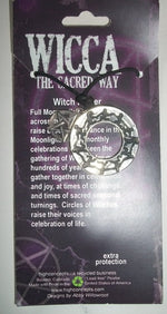 Witches Circle Talisman Pendant - Autumn Dusk Spirits