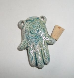 RARE Ruggedly Handsome Male Were-Yeti – Hamsa / Evil Eye Protective Bottle Pendant