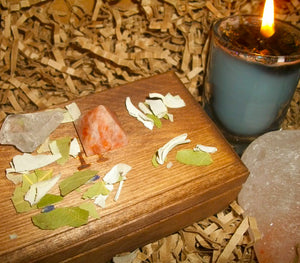 Deluxe Enchanted Complete Simply Irresistible Spell Kit – Vessel Choice - Autumn Dusk Spirits