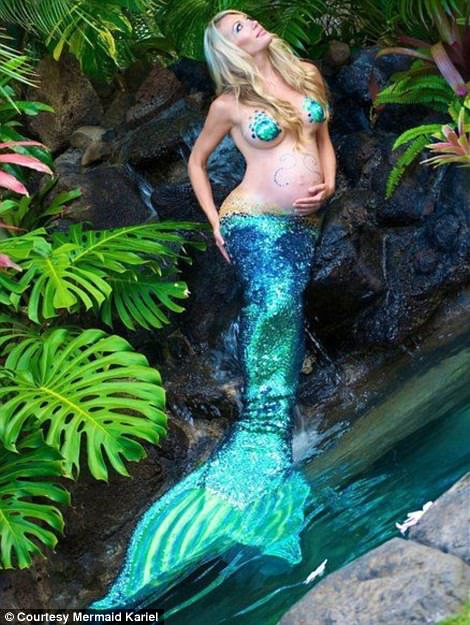 Beautiful Passionate Pregnant Mermaid – Direct Bind Only