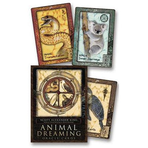 NEW/Sealed Animal Dreaming Oracle Cards by Scott Alexander King - Autumn Dusk Spirits