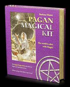 New/Sealed Pagan Magical Kit by Barbara Moore Wicca Pagan - Autumn Dusk Spirits