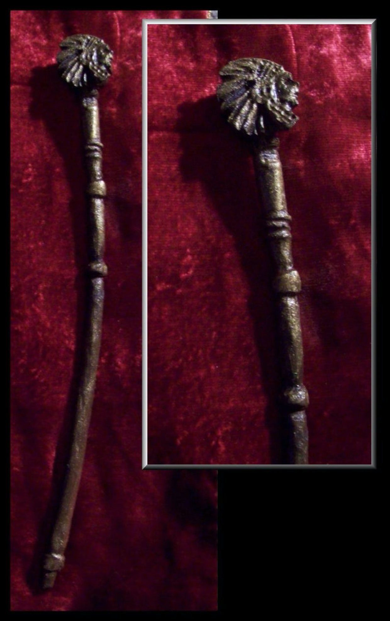 """The Chief"" Wand - Maple Wood - Autumn Dusk Spirits"
