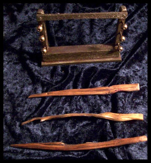 Three Willow Wands with Stand - autumn-dusk-spirits