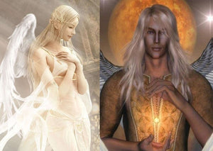 Female OR Male Courtwind Angel ~ Brilliant Noble Influence – Vessel of Choice - Autumn Dusk Spirits