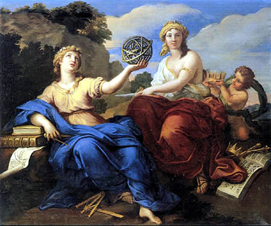 Two Beautiful Inspirational Ancient Greek Muses – Only 2 - Autumn Dusk Spirits