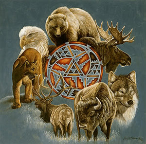 Spirit Totem/Animal Guide - No Options - autumn-dusk-spirits