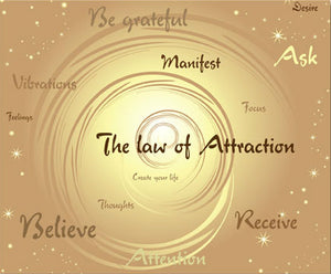Law of Attraction LAAT - Tremendous Asset – 2 to Choose From - Autumn Dusk Spirits
