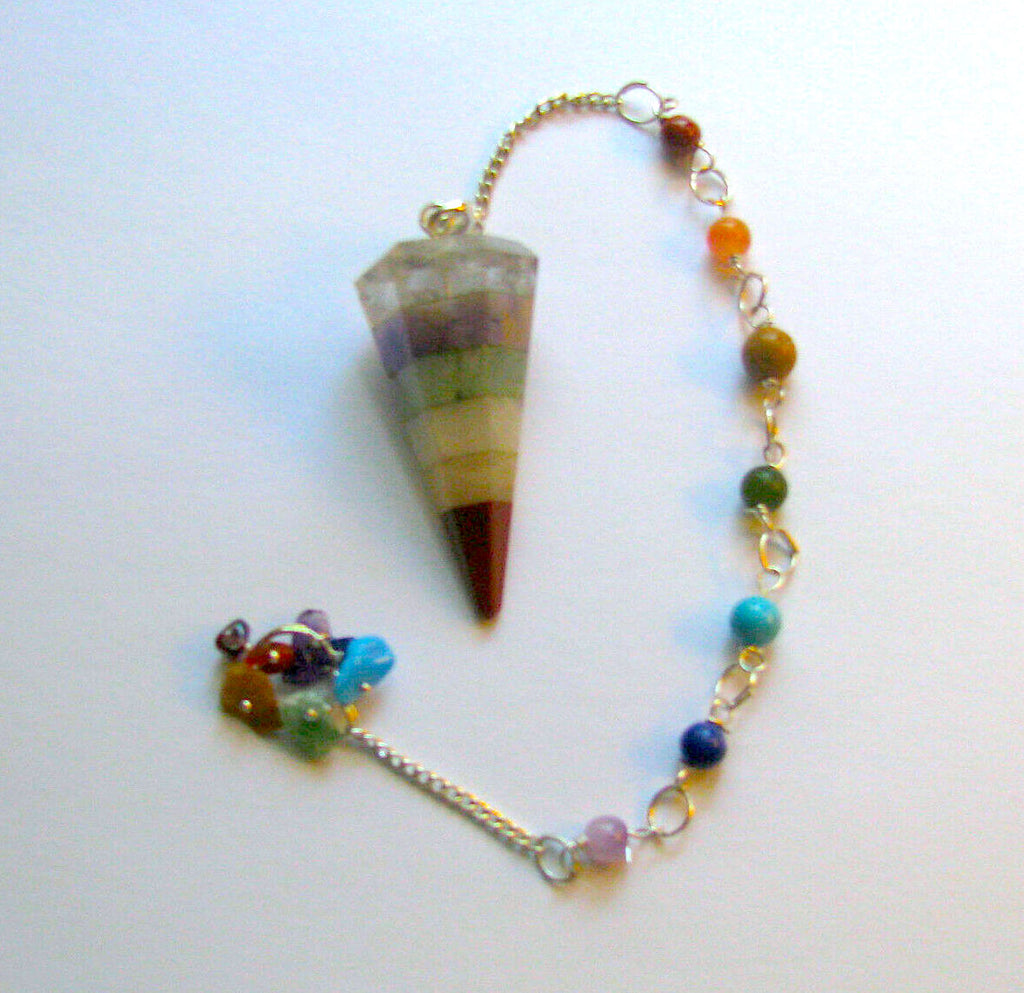 Neutral/Earthy Layered Pendulum - Autumn Dusk Spirits