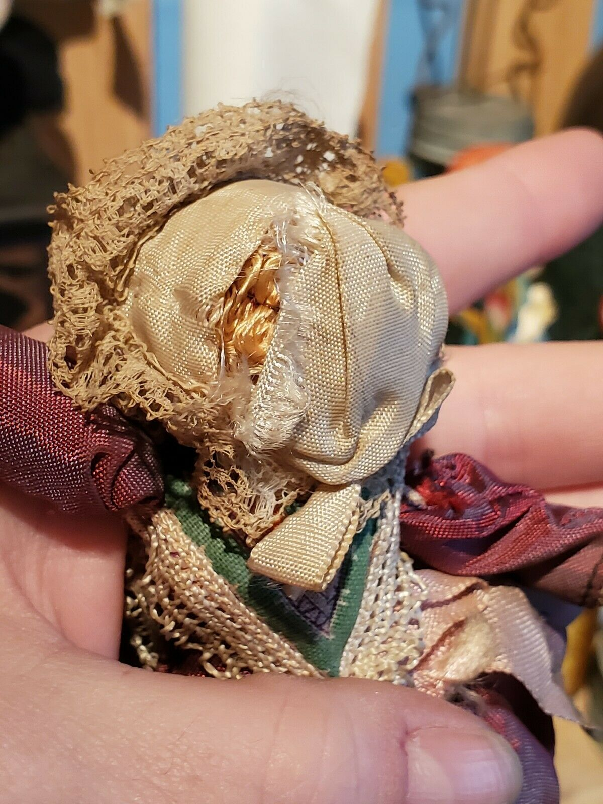 One-Of-A-Kind, Wise, Worldly & Wondrous Gypsy Witch – Antique Bisque Doll