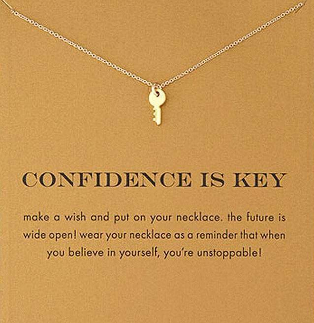 Key Necklace - Confidence - autumn-dusk-spirits