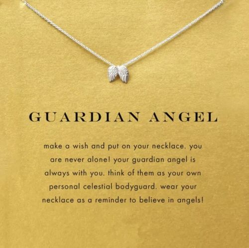 Wings Necklace - Guardian Angel - autumn-dusk-spirits