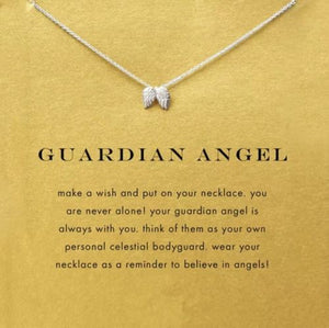 Wings Necklace - Guardian Angel - Autumn Dusk Spirits