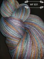 WF 831 Multi colored Teal, Blue, Purple and Gold shades