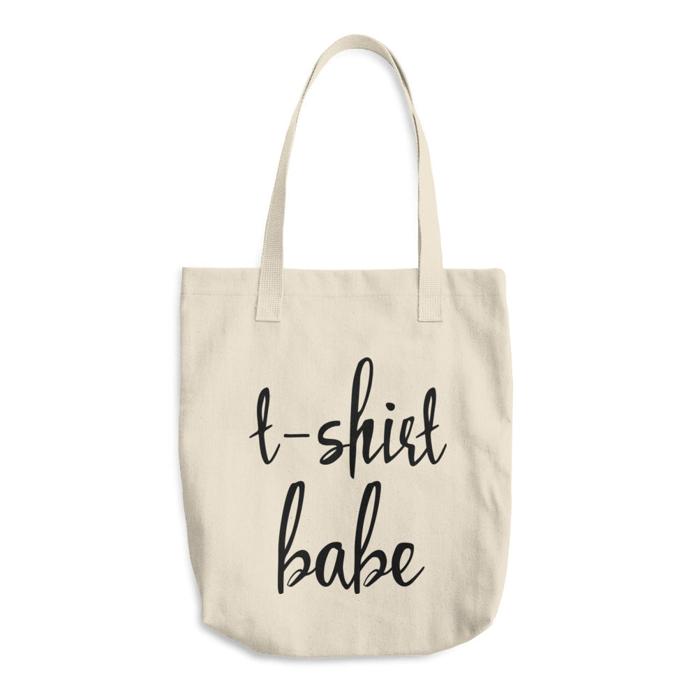 T-shirt Babe Cotton Tote Bag