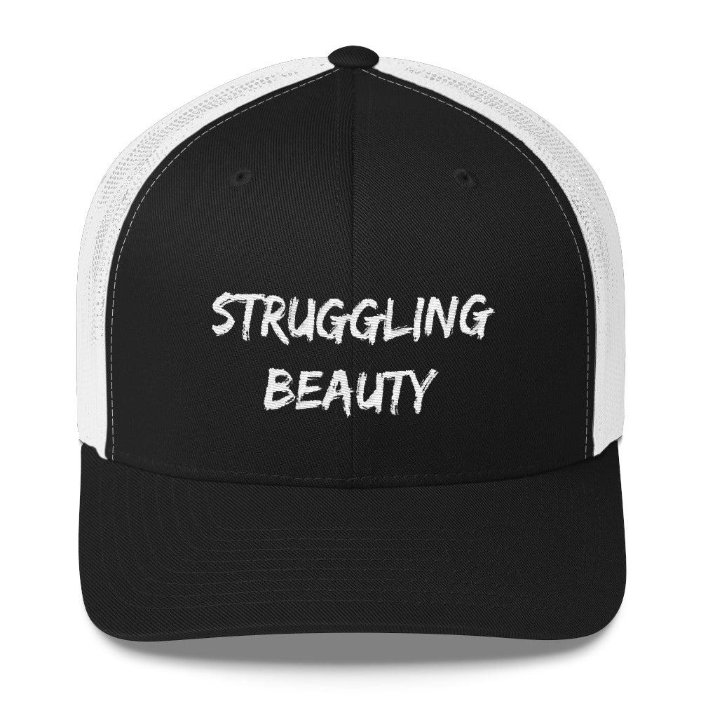 Struggling Beauty Trucker Cap