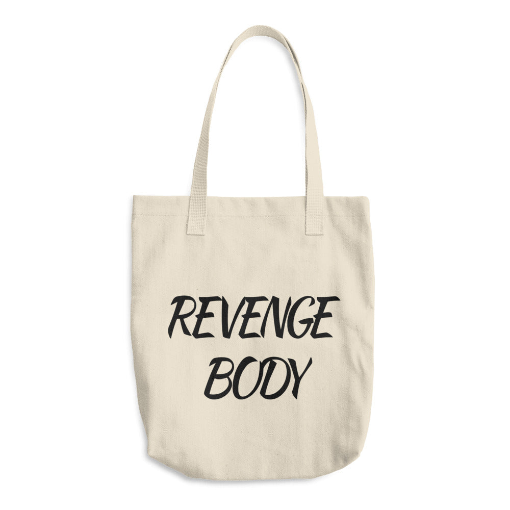 Revenge Body Cotton Tote Bag