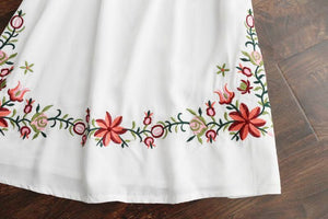 Mexican Boho Embroidered Mini Dress - Yogalogical