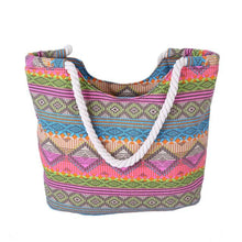 Load image into Gallery viewer, Boho Tote Beach Bag