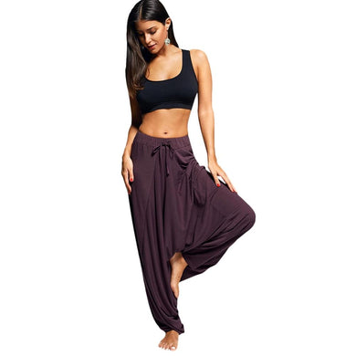 Low Drop Harem Yoga Pants - Yogalogical