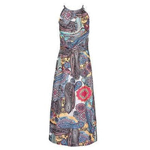 Load image into Gallery viewer, Boho Paisley Maxi Dress - Yogalogical