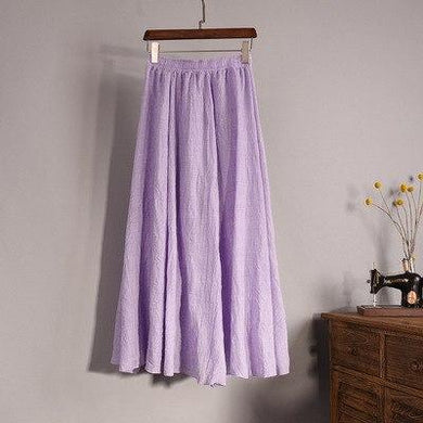 Linen Boho Skirt - Yogalogical