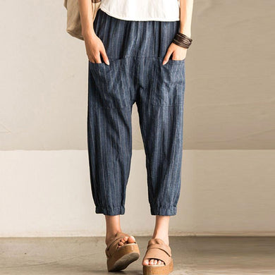 Women Vintage Baggy Harem Pants